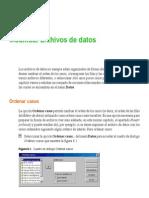Modificar Archivos de Datos