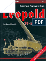 German Railway Gun. Leopold K5-E