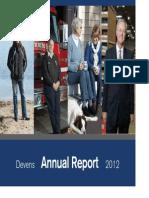 Devens Annual Report 2012