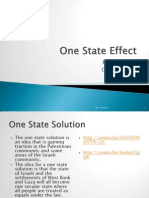 The One-State Effect