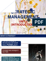 Strategic Management Unit i