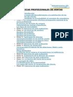 TECNICAS PROFESIONALES DE VENTAS.doc