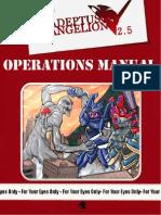 Adeptus Evangelion 2.5 - Operations Manual