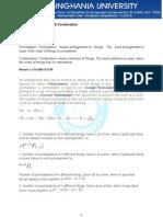 4Permutation&Combinations