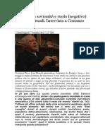 Intervista a Costanzo Preve