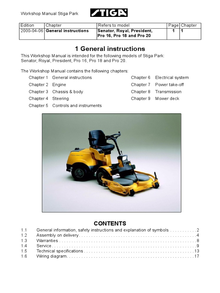 stiga pro 16 workshop manual transmission mechanics motor oil rh scribd com Psychology Myers 8E Water Heater G6A- 8E