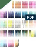Free Pantone Colour Chart