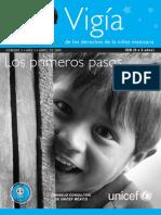 Vigía de los derechos de la niñez mexicana. Número I. Año 1. Abril de 2005. Los primeros pasos
