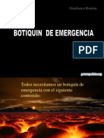 Gianfranco Rondon Botiquin de Emergencia 100162
