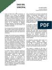 La Continuidad Del Conflicto Municipal - Fabian Caballero