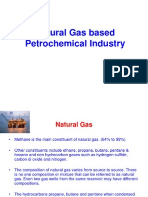 Natural Gas Based Petrochemical Industry | Cracking