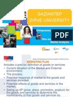 2. Modul Customer and Market Analysis