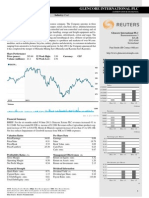 Reuters Financial Performance Glencore