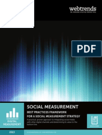 SOCIAL MEASUREMENT