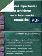 UVM - Tecnicas Intervencion PPT - Puntos Importantes
