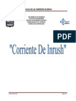 Calculo de Las Corrientes de Inrush