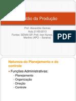 Apresentação PCP - Administracao