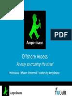 Ampelmann Offshore Personnel Transfers