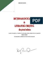 Remus Rus - Dictionar Enciclopedic de Literatura Crestina