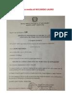 Licenza Media Di Riccardo Lauro