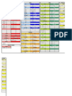 Game Play Calling Sheets