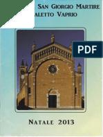 Natale 2013 - Parrocchia San Giorgio Martire Casaletto Vaprio (CR)