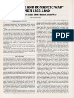 A Savage and Romantic War, Spain 1833-1840, Part 1, The Course of the First Carlist War