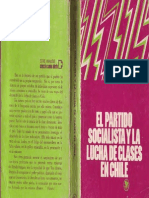 22851824 Casanueva F y Fernandez M El Partido Socialista y La Lucha de Clases en Chile 1973
