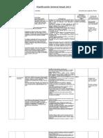 Planificación General Anual historia 5