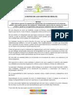 2013 Conclusiones Encuentro Personas Voluntarias