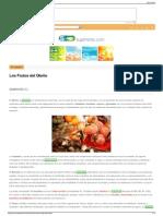 Nutricion ecologica  Los Frutos del Otoño  Nutricion ecolo