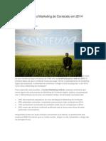 Previsões para o Marketing de Conteúdo em 2014
