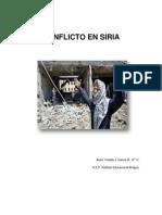 Trabajo Definitivo de Conflicto en Siria (Autoguardado)