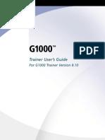 G1000-Non-AirframeSpecific TrainerUsersGuide TrainerVersion8.10