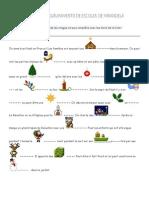 Noël - Exercice de vocabulaire