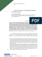 2010 - Judaizing the Nations - The Ritual Demands of Paul's Gospel