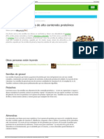 Frutos secos y semillas de alto contenido proteínico  eHow