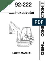 193 - 222 Excavator