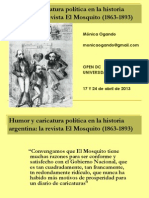 Humor y caricatura política en la historia argentina