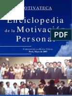 Enciclopedia de La Motivacion Personal - Carlos de La Rosa Vidal
