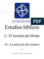 C.06.- La Ambicion Del Cristiano