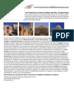 Aldea Del Rey Sacro Convento y Castillo de Calatrava La Nueva