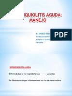 BRONQUIOLITIS AGUDA MANEJO 04-10-13