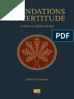 Foundations of Certitude