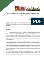 POLÍTICAS PÚBLICAS PARA A EDUCAÇÃO PRISIONAL - PERSPECTIVAS DA ONU E UNESCO