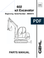 602 Excavator Sn AB00473 & After