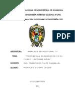 Informe Final de Estructuras