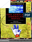 The Cambridge Companion to African American Novel