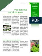 HSS Hidrocultivos Solares Sociales - Ecosem Ltda