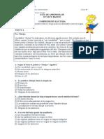 Guia de Aprendizaje COMPRENSION LECTORA Octavo
